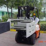 چین ہائیڈرولک موثر فورک لفٹ ٹرک منسلکہ کثیر مقصدی کلیمپ۔