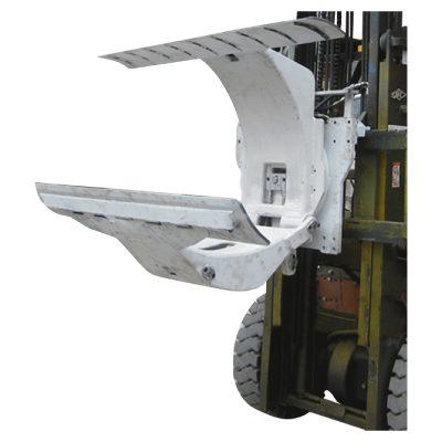 کاغذ رول کلیمپس منسلکہ کے ساتھ 3 ٹن ڈیزل فورک لفٹ ٹرک۔
